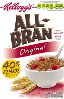 Sue makes a meal with All-Bran
