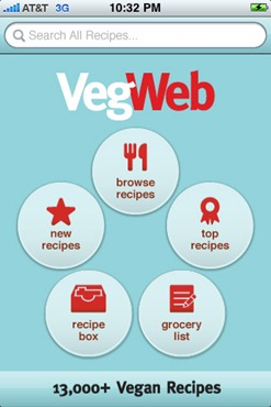 Vegan REcipe finder