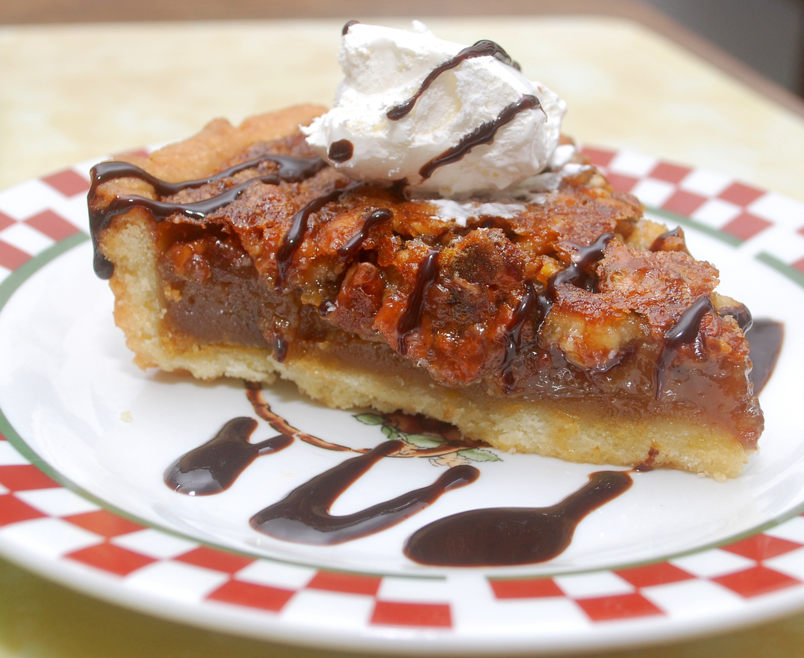 Goals and Chocolate with Francois: Chocolate Pecan Tart