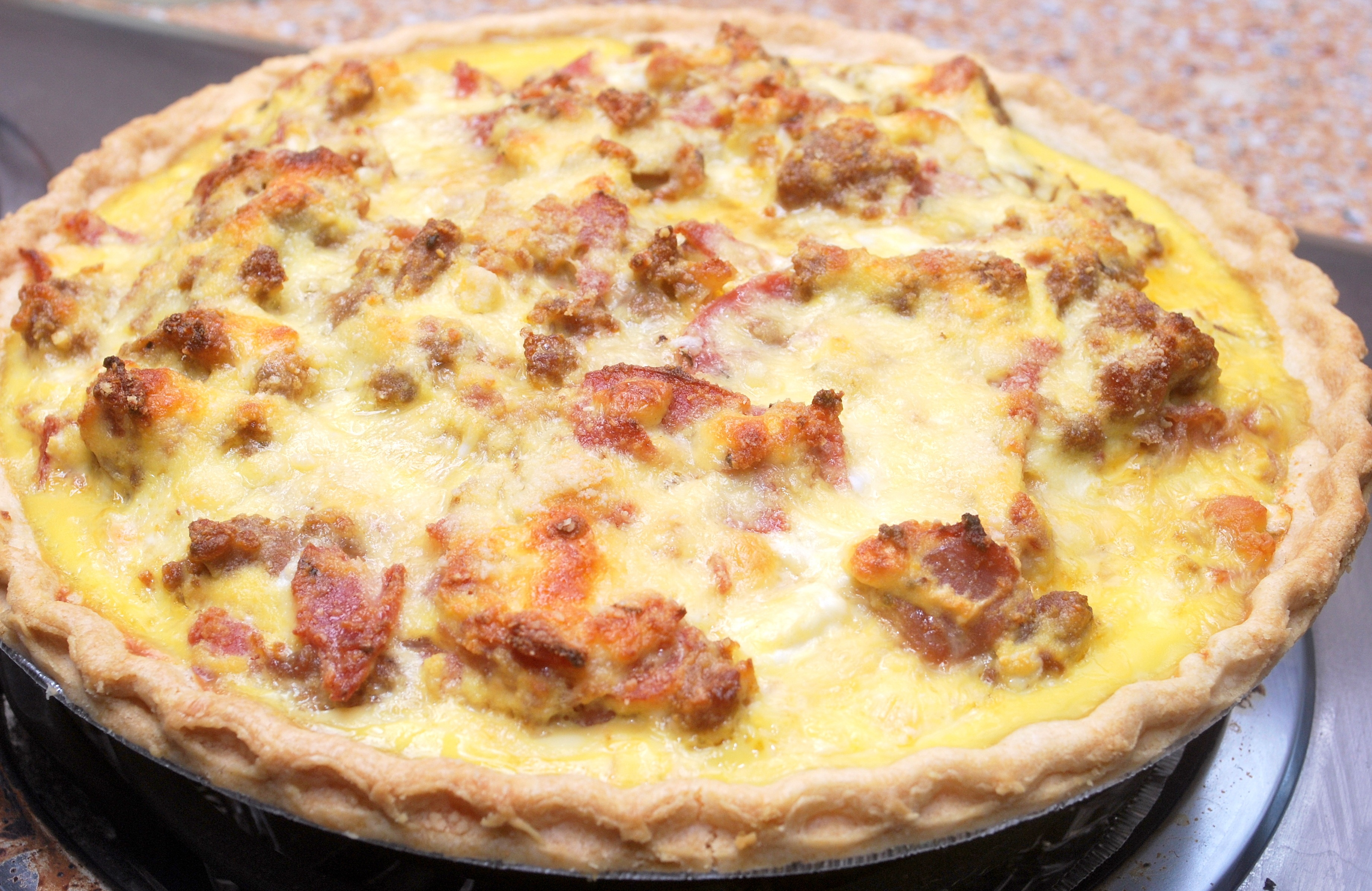 Easter Meat Pie – Posted by Mario and found on page 119 (Along with ...