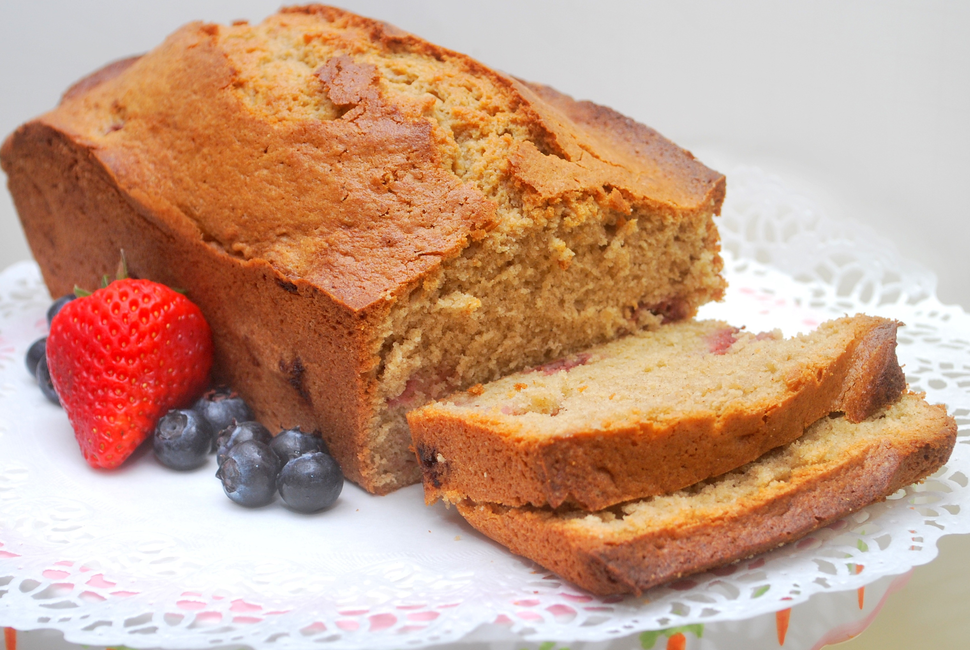 Supplements and Fruited Spice Loaf Cake