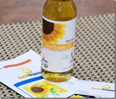 Sunflower oil4