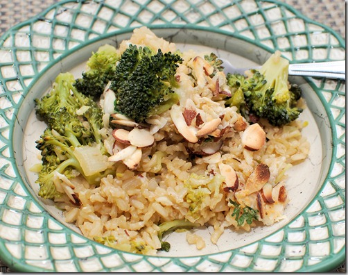 FOFF Brown Rice and Broccoli Pilaf1