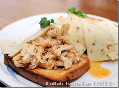 FOFF Buffalo Shredded Game Day Chicken Sammies4