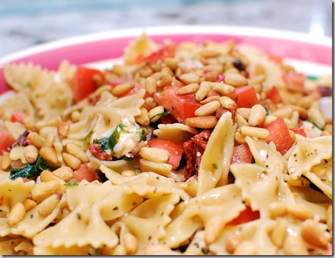 Picnic Pasta with Pine Nuts2