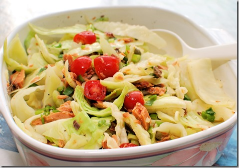 Smoked Salmon Cabbage Salad1