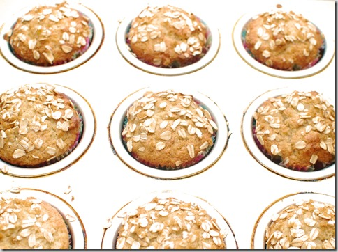 Banana Nut Goat Cheese Muffins1
