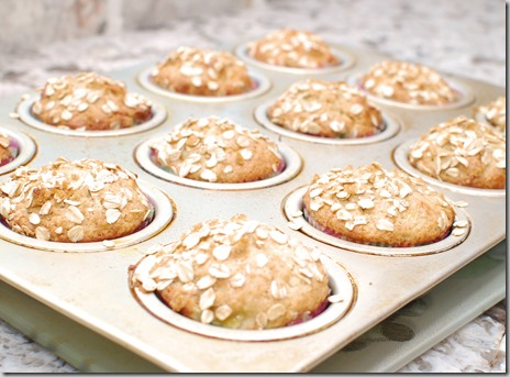 Banana Nut Goat Cheese Muffins3