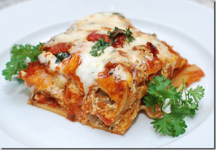 Healthy Whole Grain Lasagna3