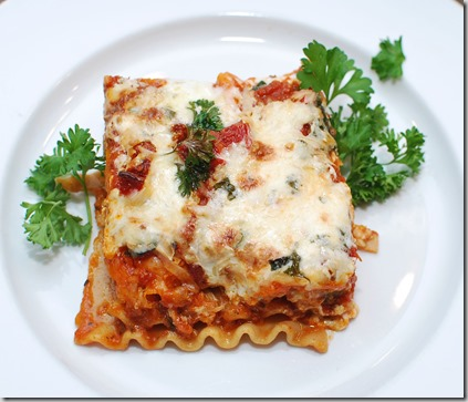 Healthy Whole Grain Lasagna6