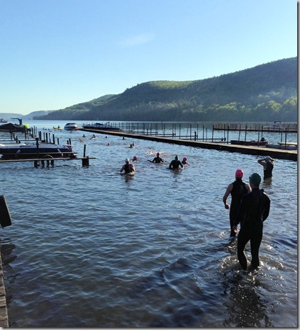 Cooperstown swim warm up