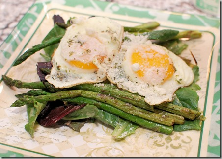 Grilled Asparagus Salad with Eggs2