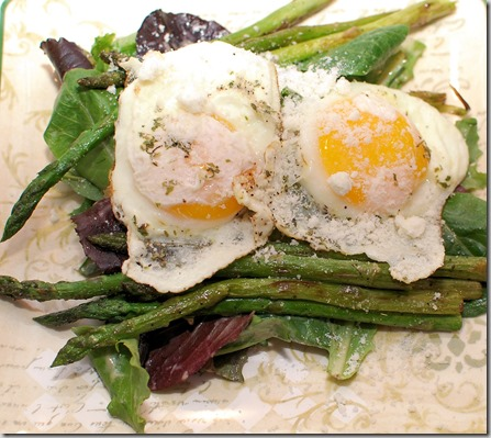 Grilled Asparagus Salad with Eggs3