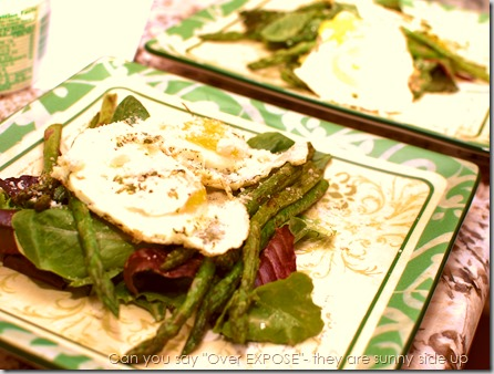 Grilled Asparagus Salad with Eggs4