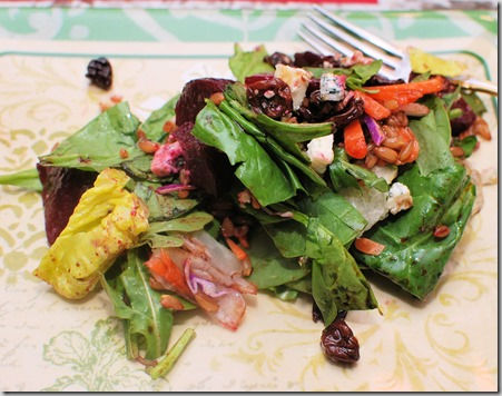 Roasted Beets and farro salad2