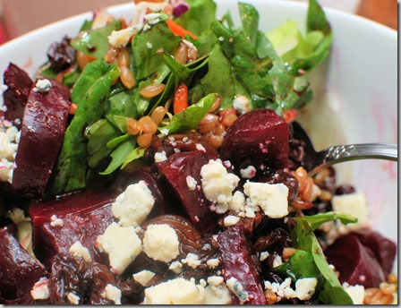 Roasted Beets and farro salad3