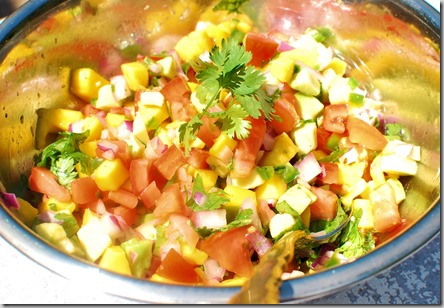 Honey Mango Avocado Salsa1