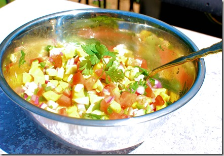 Honey Mango Avocado Salsa2
