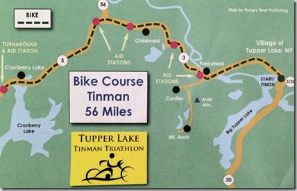 Tupper map bike