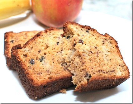 Easy Apple Bread with Cherry Vanilla Essence1