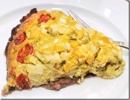 Sweet Pea Quiche with Teff Crust2
