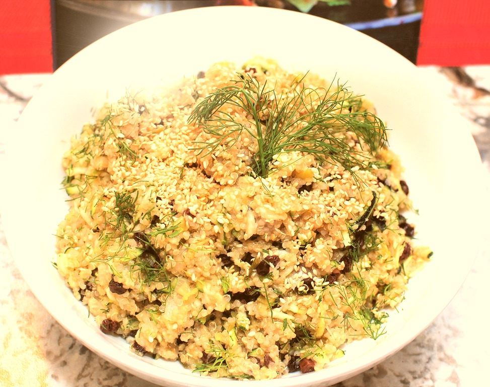 Quinoa With Currants, Dill, And Zucchini Recipes — Dishmaps