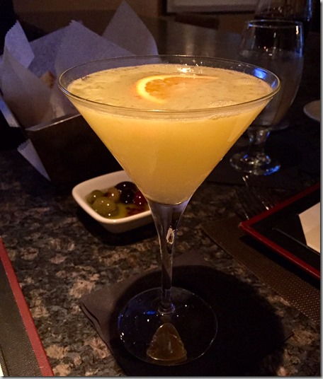 Orange Blossom Martini