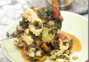 Tortellini Spinach Soup Revisited