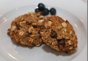 Hemp Heart Chia Banana Oat Cookies