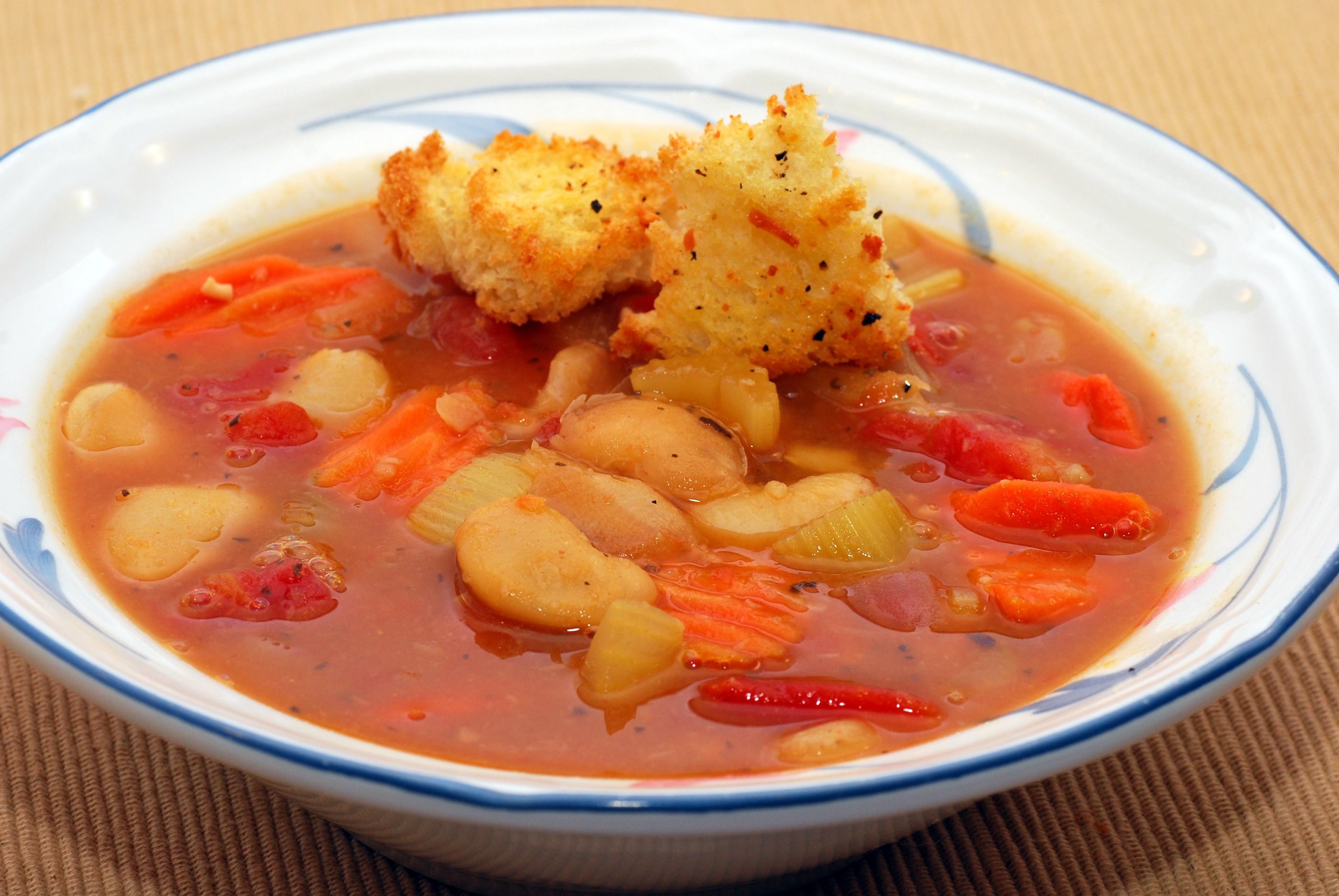 CNYEats A Taste of Utica: Butter Bean Soup