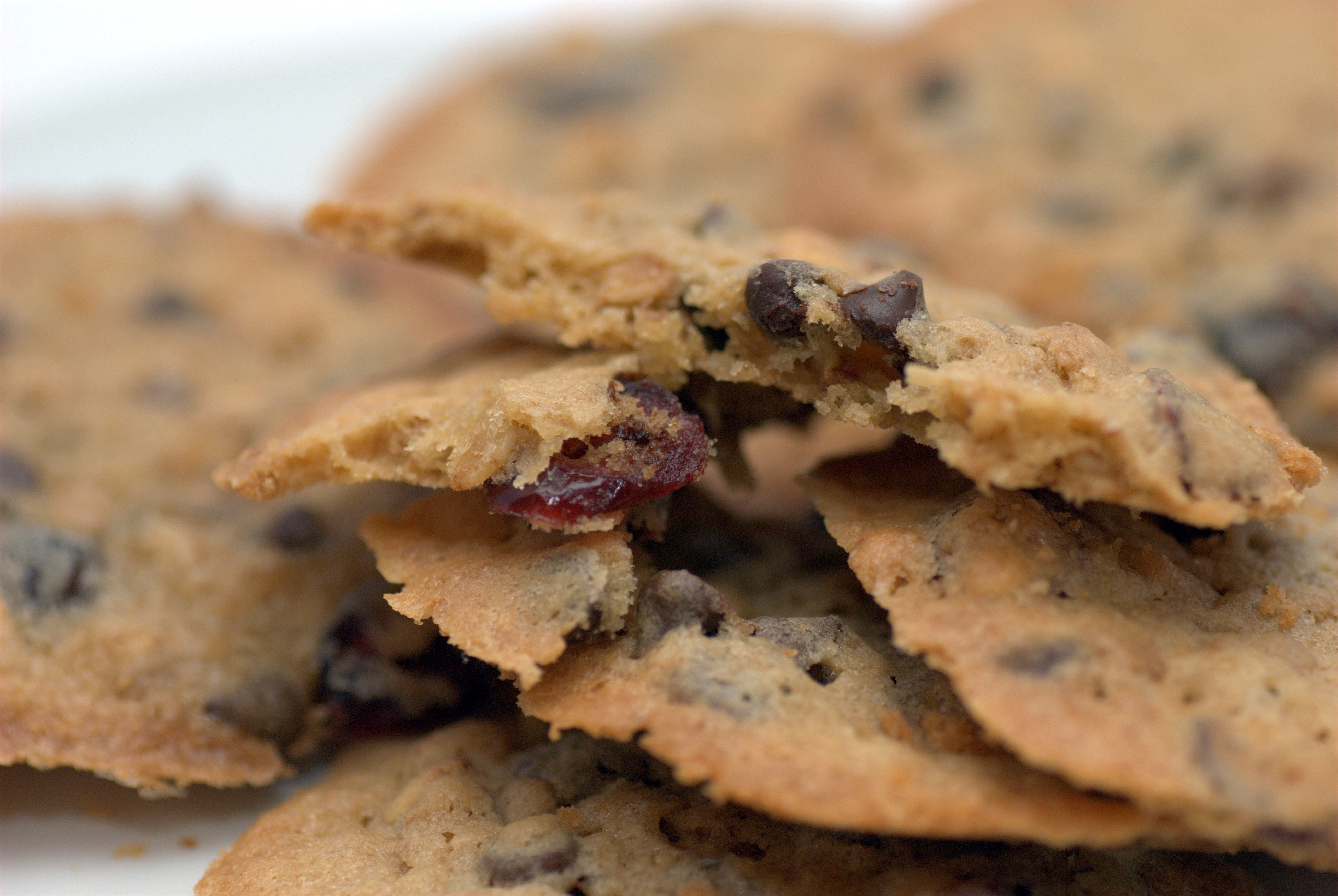 Sweet & Simple Cranberry, Pecan, and White Chocolate Cookies