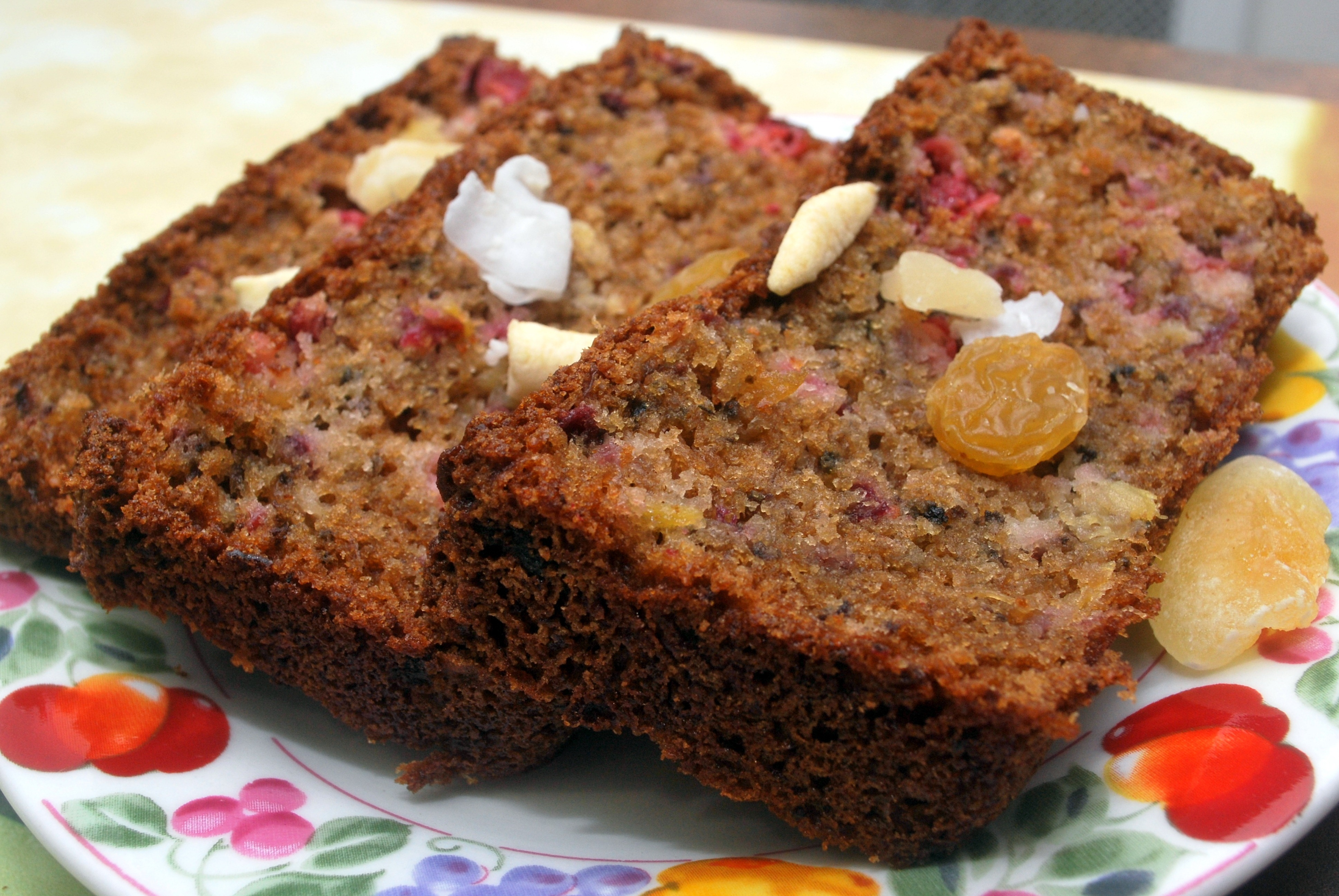 Chased By A Blogger And Cranberry Pineapple Bread