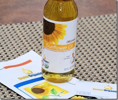 Sunflower oil4