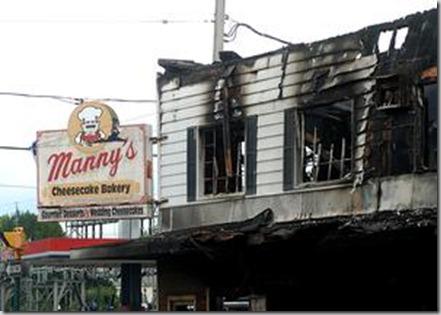 manny's burned