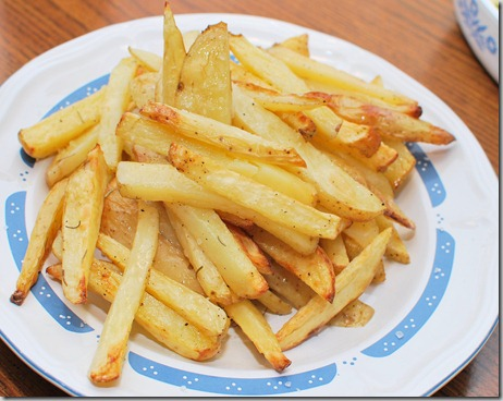 FOFF Oven Fries and NaturallySavvy12