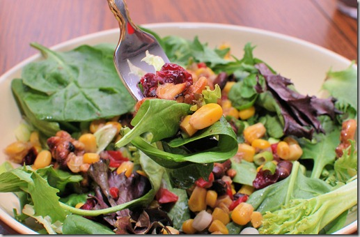 FOFF Spring Salad with Spicy Walnuts1