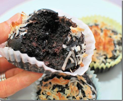Coconut Milk Cocoa Muffins5