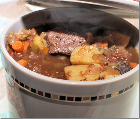 Bean pot beef stew2