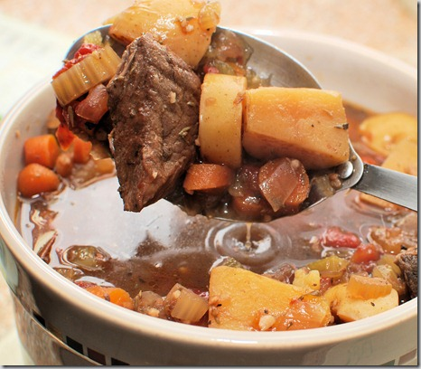 Bean pot beef stew4