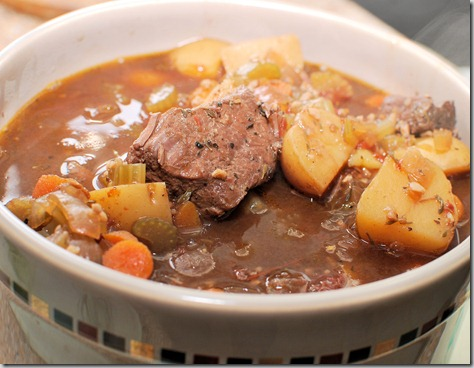 Bean pot beef stew5