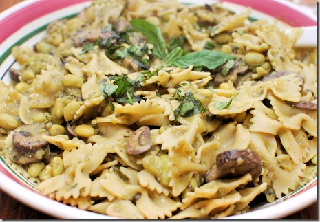 FOFF Farfalle Creamed Basil and Peas1