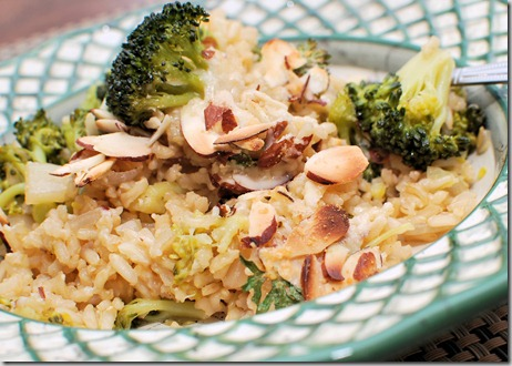 FOFF Brown Rice and Broccoli Pilaf2