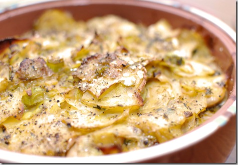 FOFF Potato leek and olive casserole4