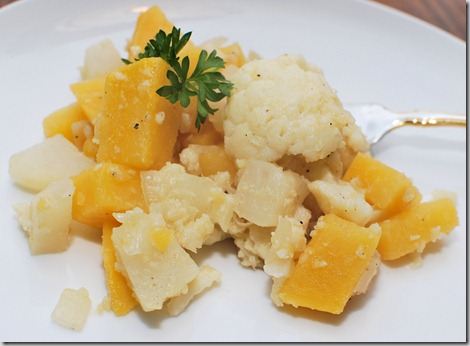 Cauliflower and Root Veg with Caramelized Onion1