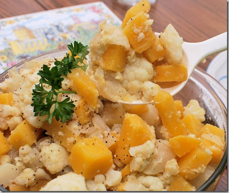 Cauliflower and Root Veg with Caramelized Onion3