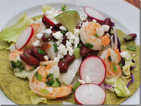 Shrimp and Bean Tortillas5