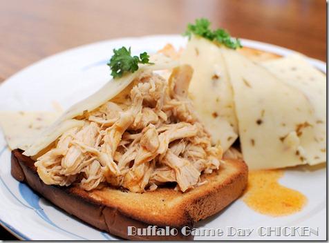 FOFF Buffalo Shredded Game Day Chicken Sammies4
