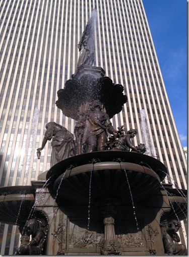 Cinci fountain