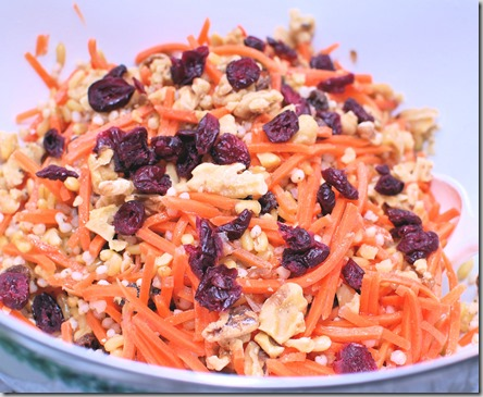 Kamut and Raisin Salad2