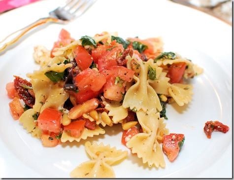 Picnic Pasta with Pine Nuts3
